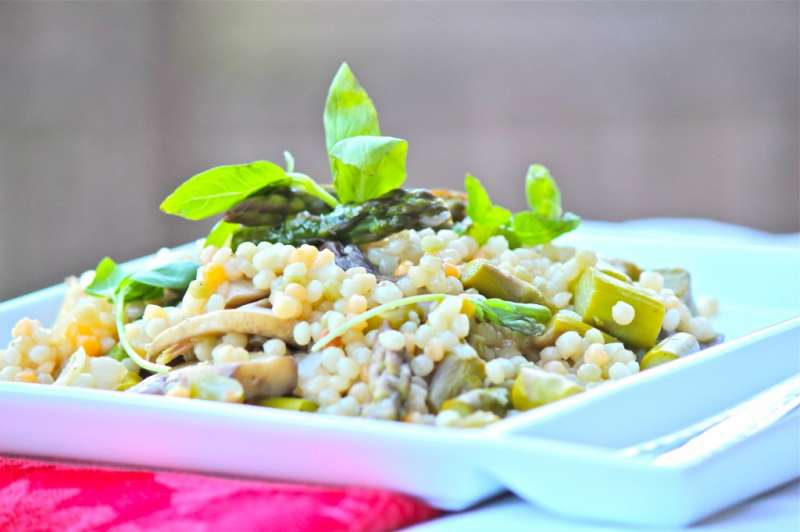 Fresh Flavorful and Fast Israeli Pearl Couscous