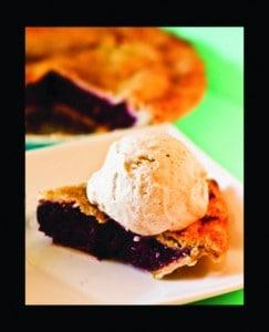 Lemoncello Berry Pie Slice