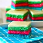 Psychedelic 7 Layer Italian Cookies