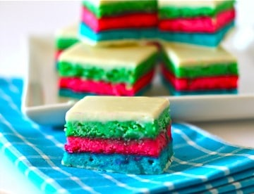 Groovey Psychedelic 7 Layer Italian Cookies