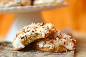 Chinese 5 Spice Cookies with Silky Cream Cheese Frosting