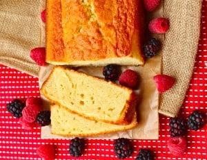 Zumba Pound Cake