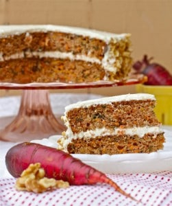 Purple Carrot- Carrot Cake