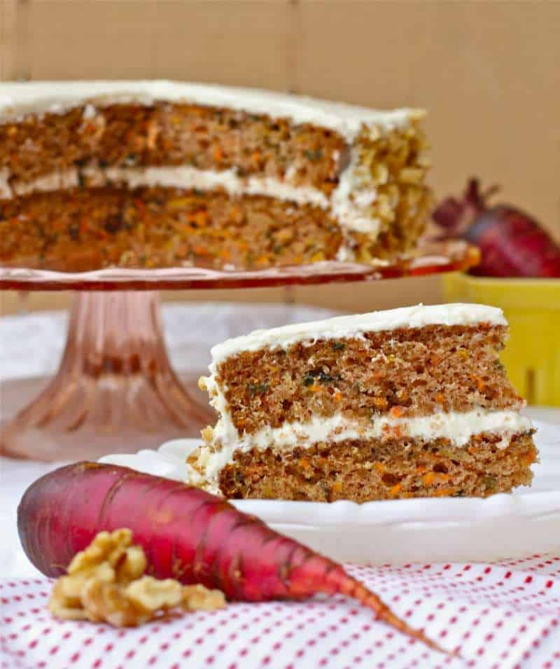 Purple Carrot Carrot Cake