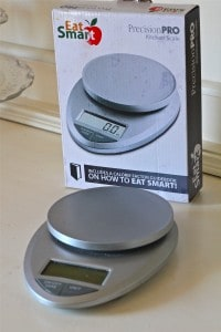 Eat Smart Digital Kitchen Scale perfect for measuring Macaron Ingredients