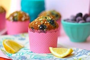 Lemon-Bluberry Ricotta Muffin
