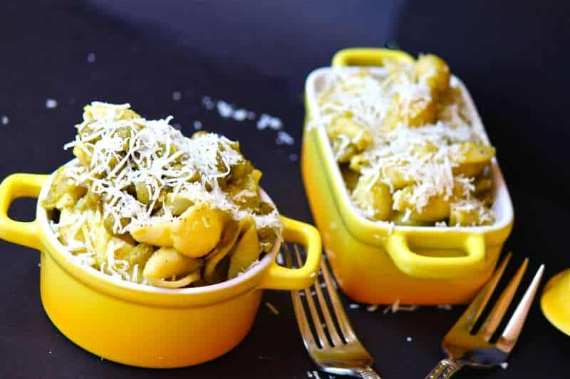 Pasta with Peas and Parmesan