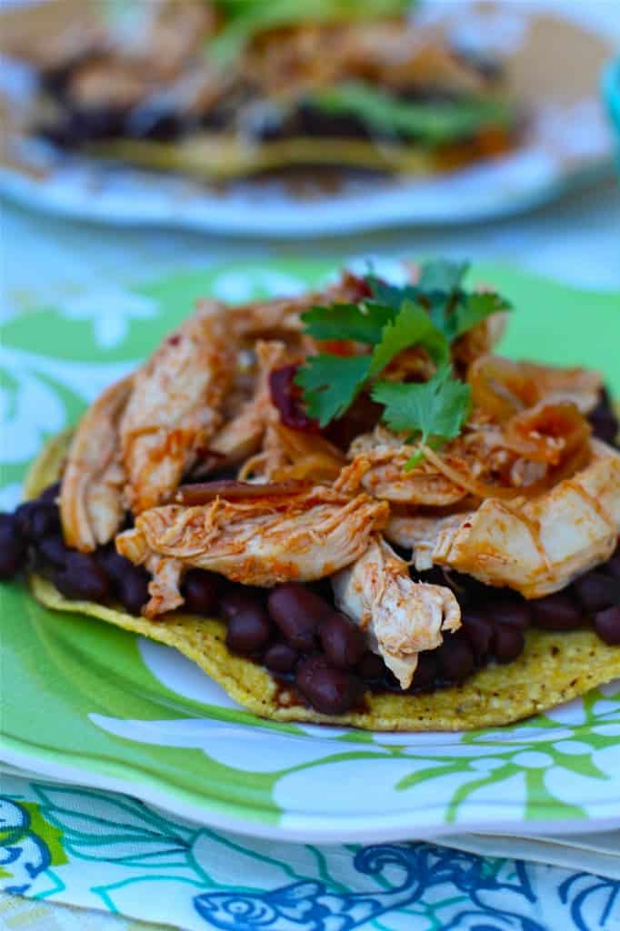 Quick and Easy Chipotle Tostadas