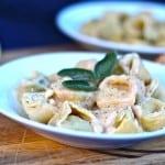 Lemon Mascarpone Browned Butter Tortellini