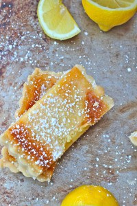 Delicious Lemon Shortbread Tart
