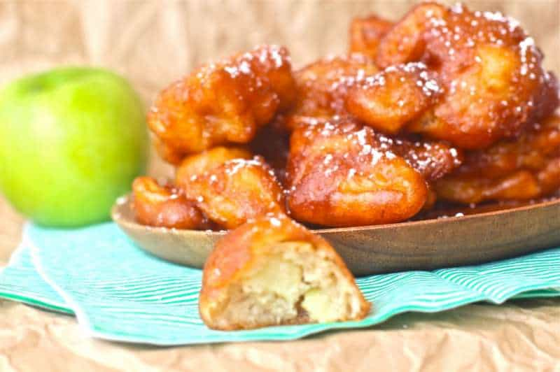 Bite Size Apple Fritters