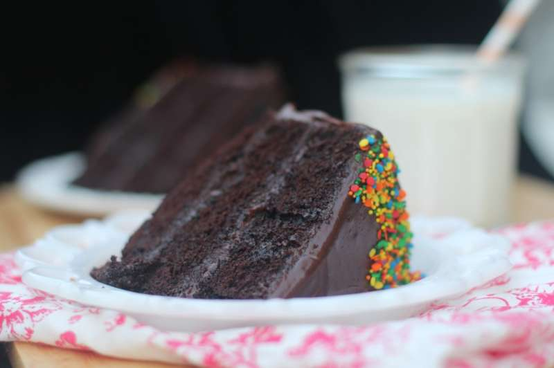 Perfect Chocolate Cake with Chocolate Buttercream Frosting