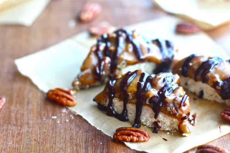 Gluten Free Pecan Shortbread Bars