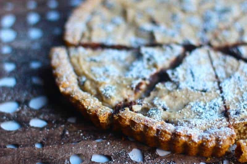 Cannoli Tart- Crostata di Ricotta e Cioccolato