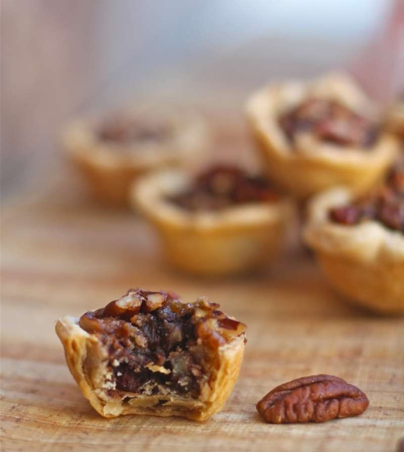 Chocolate  Pecan Bourbon Bites