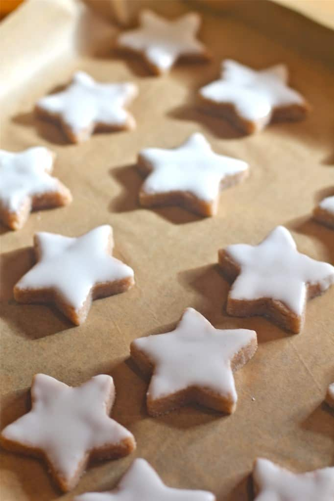 Elegant Gluten Free Cinnamon Stars