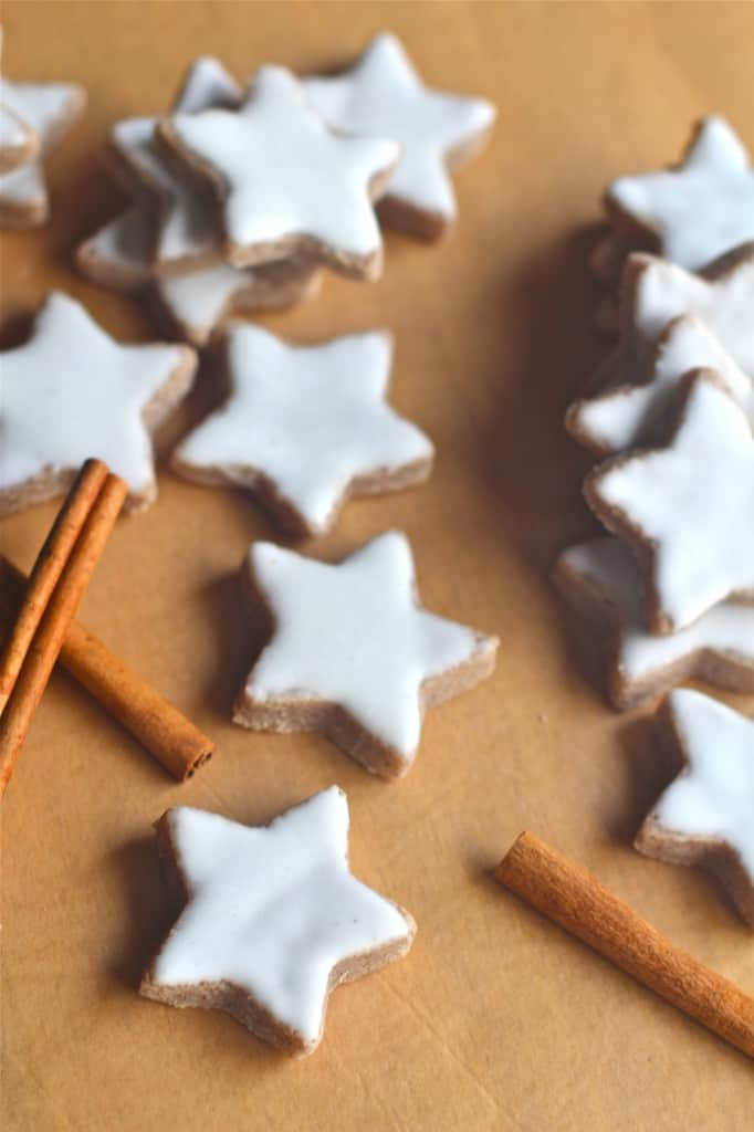 Simple Gluten Free Cinnamon Stars