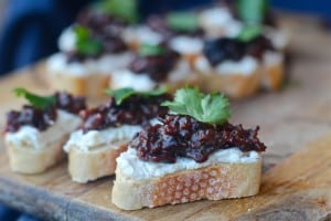 Bacon Jam Crostinis