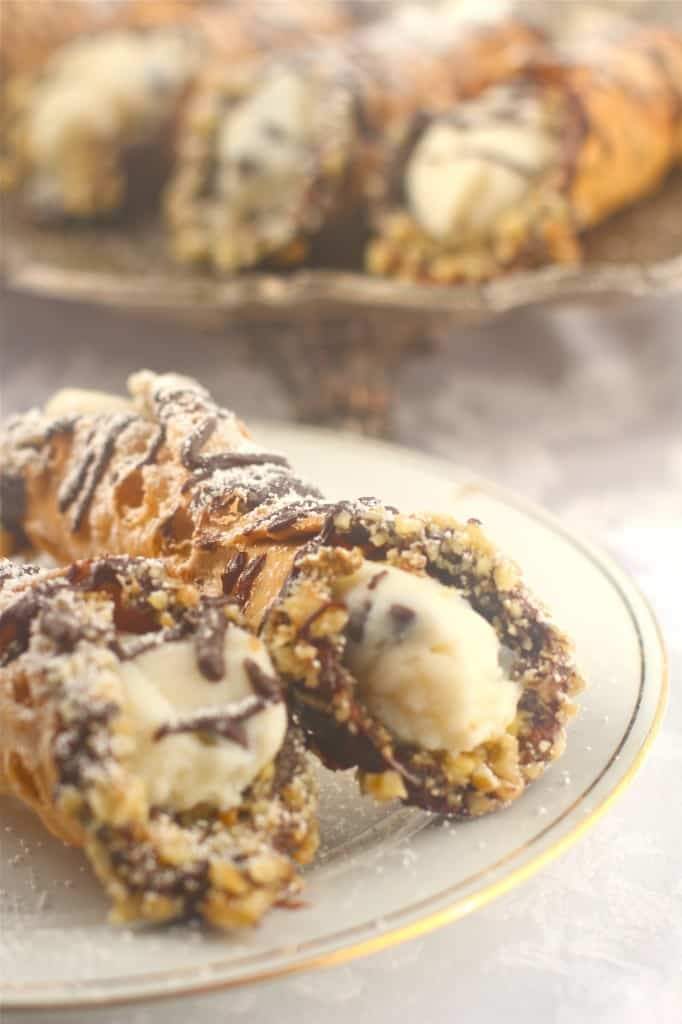 Cannolis With Ricotta Cheese