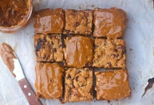 Salted Dulce de Leche Cookie Bars