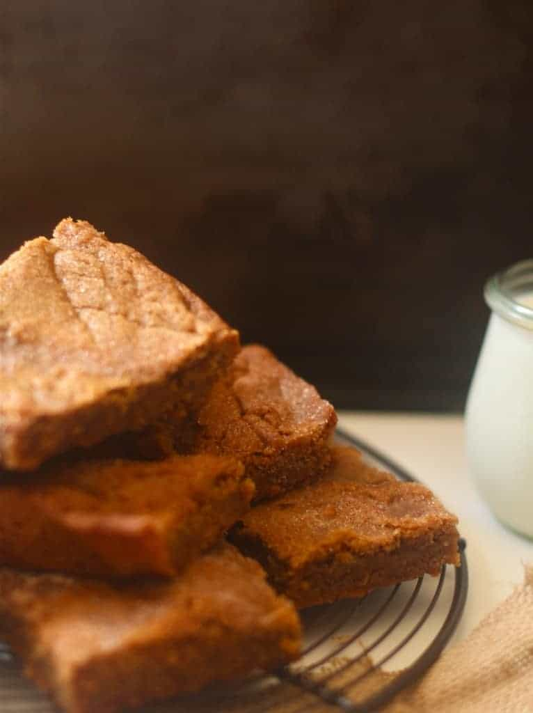 Mr. Rogers and Snickerdoodle Blondies