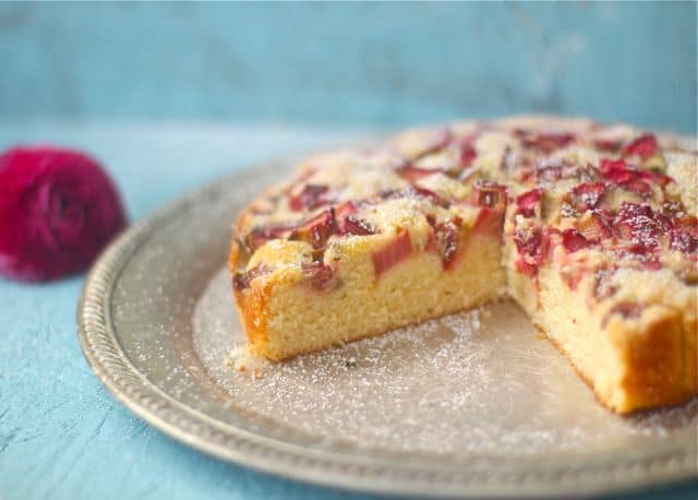 Rhubarb cake recipe nz