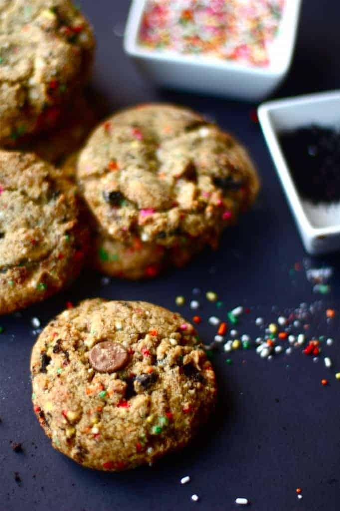Oreo Funfetti Pudding Cookies