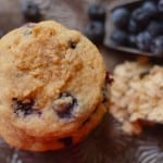 Blueberry Crumble Cookies