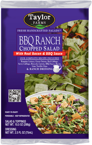 Taylor Farms Salads bbq ranch