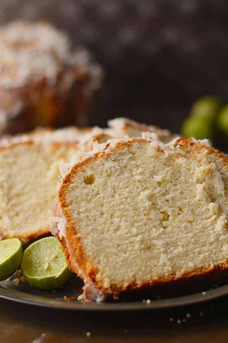 Zesty Coconut Pound Cake