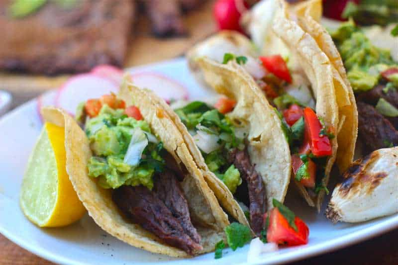 Carne Asada Tacos - The Seaside Baker
