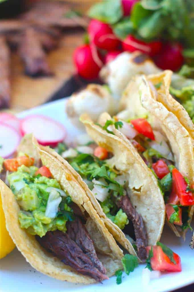 Carne Asada Tacos - The Seaside Baker