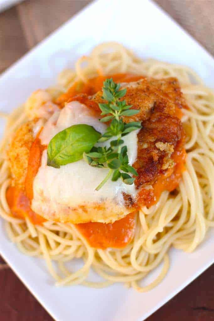 Spaghetti with Homemade Spaghetti Sauce