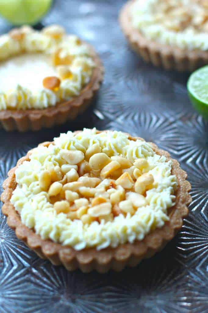Key Lime Macadamia Nut Tart