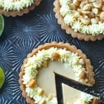 Key Lime Macadamia Nut Tarts