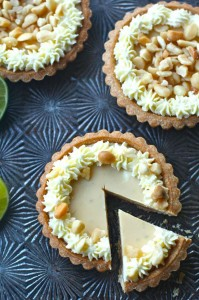Key Lime Macadamia Nut Tarts