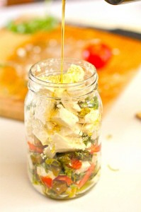 Hatch Chile Marinated Feta