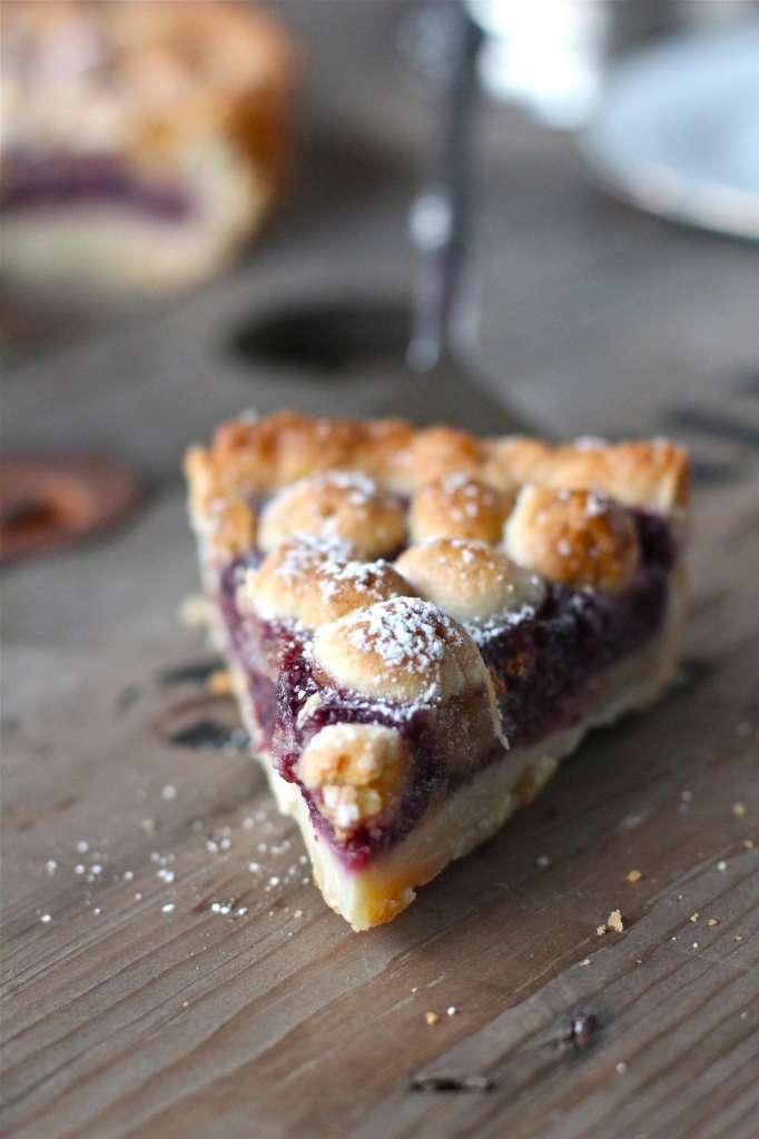 A Slice of Cherry Almond Tart