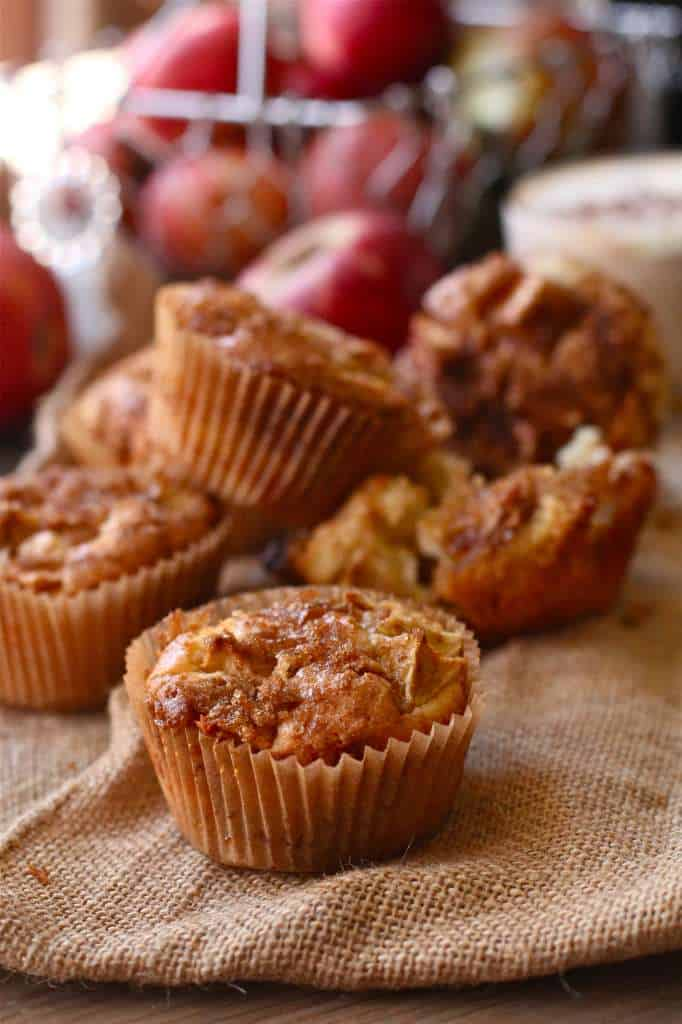 Apple Brown Sugar Muffins