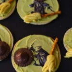 Melted Witch Sugar Cookies