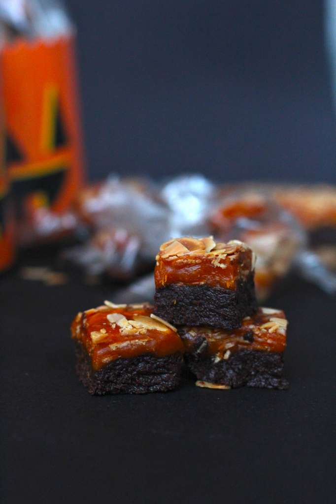 Double Decker Chocolate Caramels
