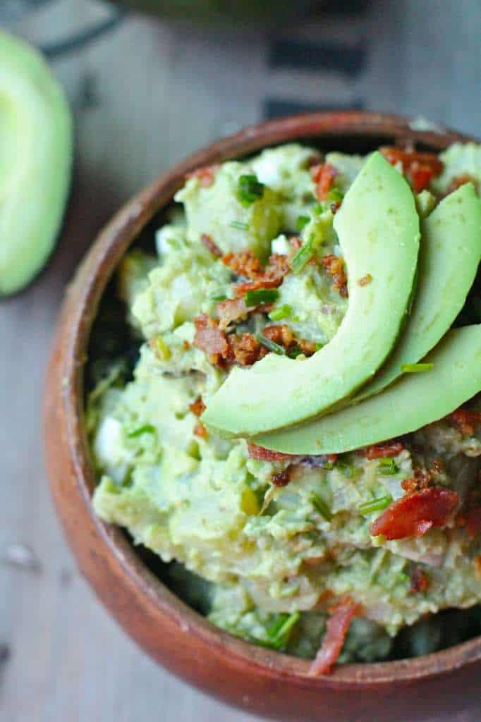 Fresh Avocado Potato Salad