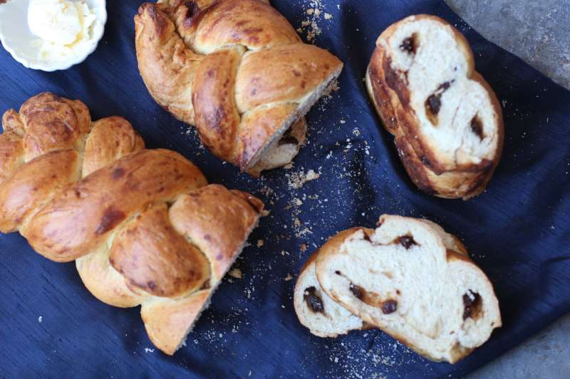 Braideded and Swirled Cinnamon Challah or Tresse