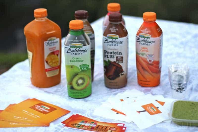 Bolthouse Farms' juices