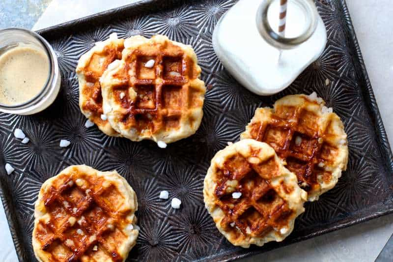 Caramalized Sugar Liege Waffles