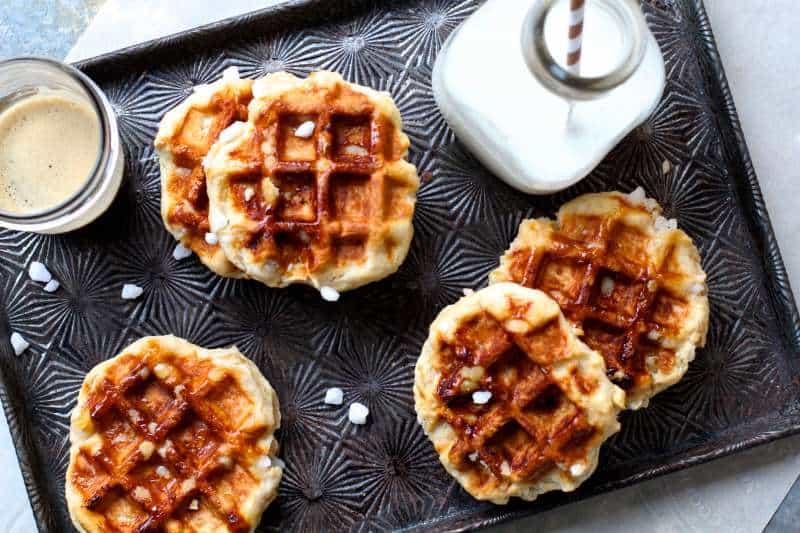 Caramalized Sugar Liege Waffles