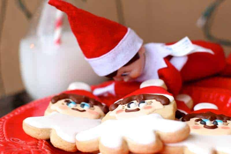 Elf on the Shelf Roll Out Sugar Cookies and Giveaway #5