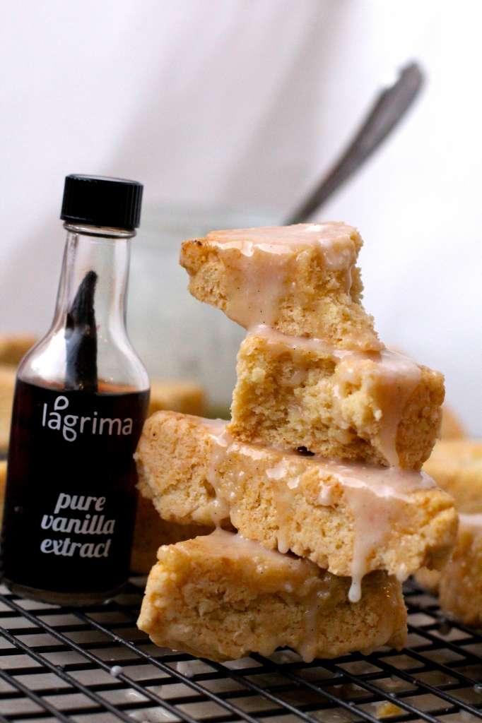 Lagrima Vanilla Scones