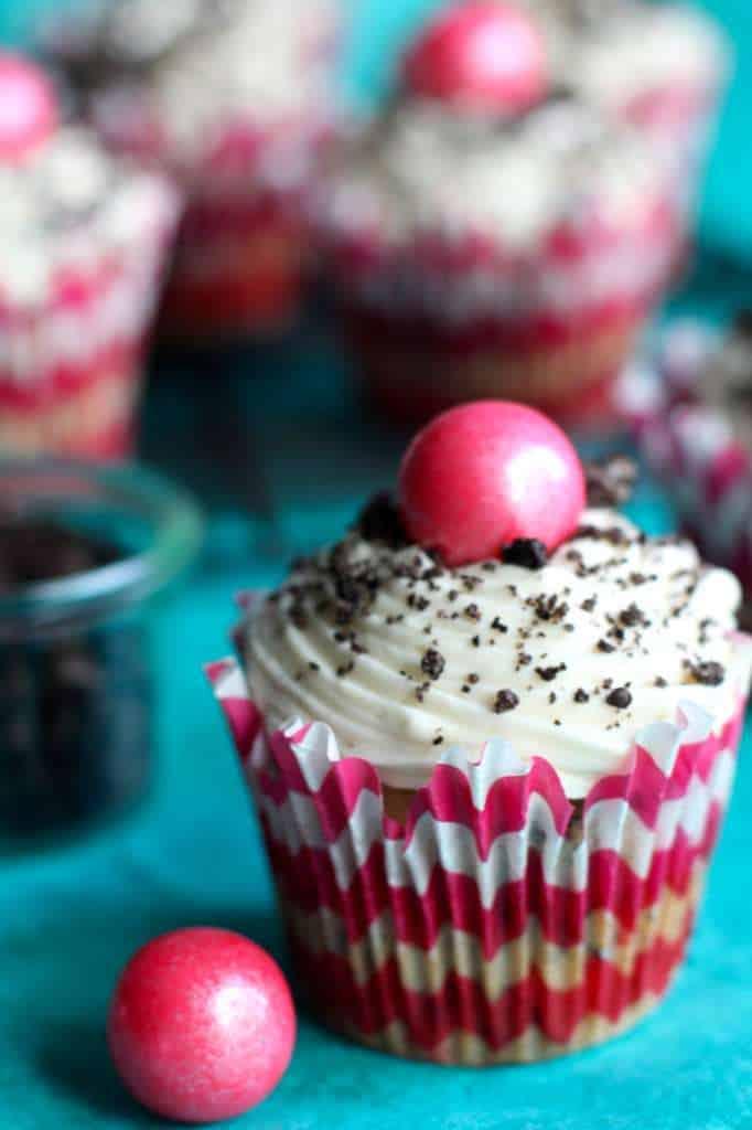 Oreo Funfetti Cupcakes