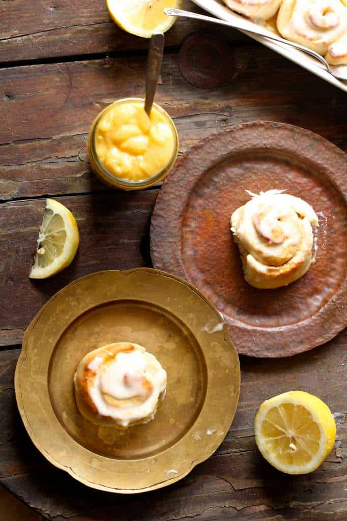 Sweet and Delicious Lemon Sweet Rolls